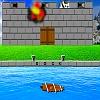 Sailing Ship Castle Attack.
